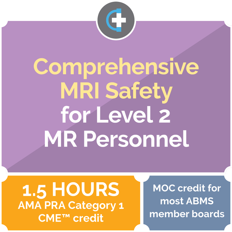 MRI safety for level 2 providers | FluoroSafety